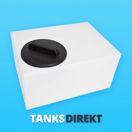 75 Liter Wassertank flach