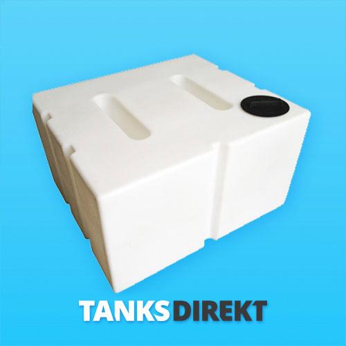800 Liter Wassertank flach mit Schwallwand