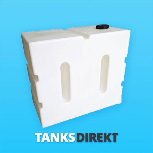 800 Liter Wassertank vertikal mit Schwallwand