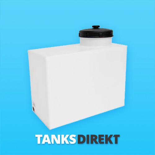 80 Liter Wassertank vertikal mit Hals