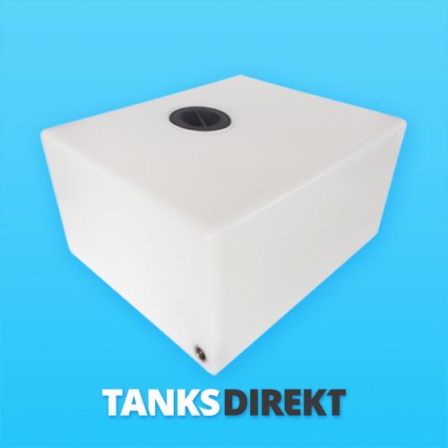 85 Liter Wassertank flach 12 cm Deckel