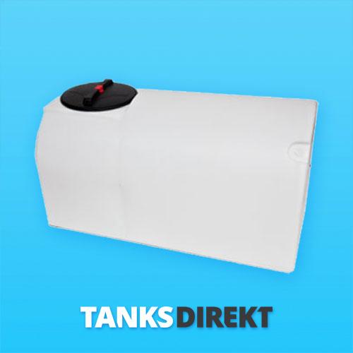 900 Liter D-Form Wassertank ohne Schwallwand