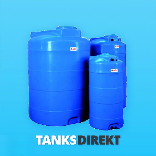 RPV-1500 Liter Speichertank zylindrisch vertikal