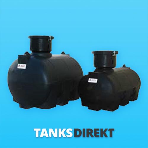 RPO-1000 Liter zylindrischer, horizontaler Erdeinbau Tank