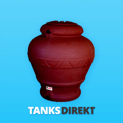 RPD-500 TC Liter 500 Liter dekorativer, farbiger, Keramik-Optik Wassertanktank
