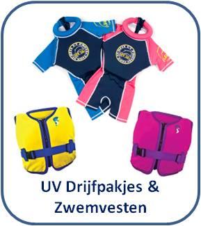 Drijfpakjes * Drijfpak kind Swimsafe * Zwemvest kind * Kinderzwemvesten