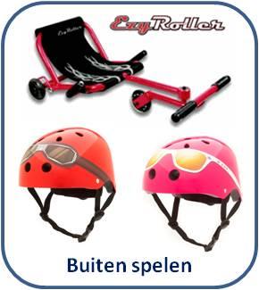 Stoere kinder fietshelmen en supercoole Ezyroller ligfietsen / skelters