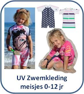 UV zwemkleding, zwempakjes, badpakjes, zwembroekjes & UV shirts voor meisjes * Surfit, Snapper Rock, Disney & 4BB2