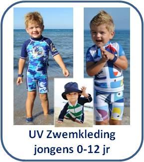 UV zwemkleding, zwempakjes, zwembroeken & UV shirts voor jongens * Surfit, Snapperrock, Disney & 4BB2