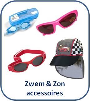 Zwem & Zon accessoires: Duikbril * Zonnebril * Badmuts * Zonnepet * Zonnehoedje voor baby en kind