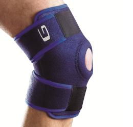 Knie support open