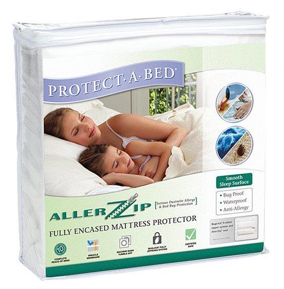 Matrasbeschermer met rits