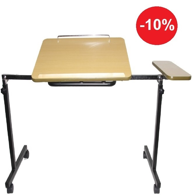 Tafel over bed