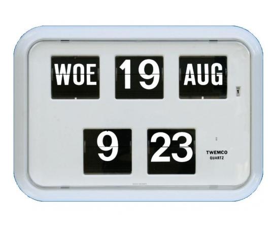 Dementieklok met 24 uurs tijdsaanduiding