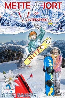 Geeri Bakker - Mette en Jort op wintersport