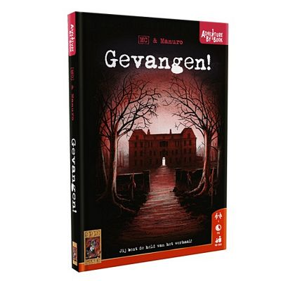 Adventure by book - Gevangen!