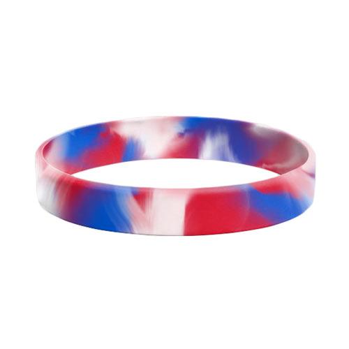 Siliconen armbandjes Marmer / swirl effect