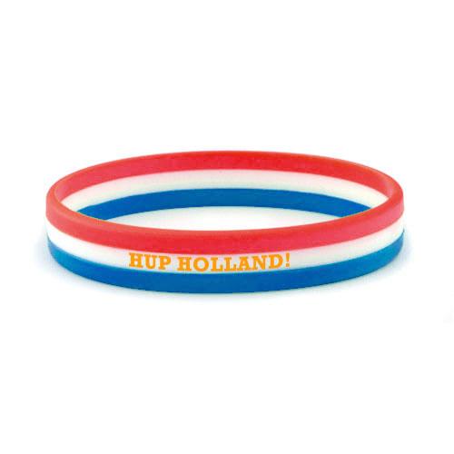 Siliconen armbandjes met verschillend gekleurde lagen