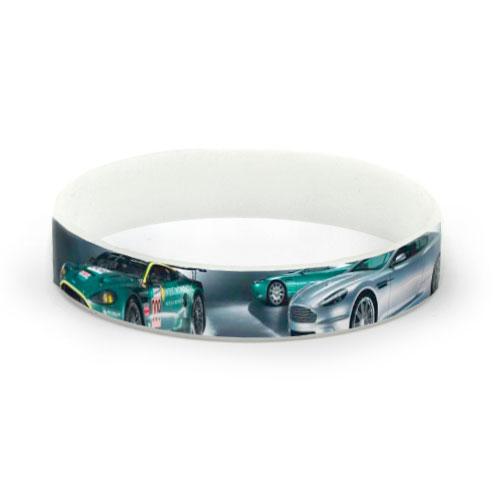 Siliconen armbandjes me full colour bedrukking, ideaal voor foto's
