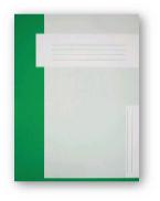 Trias dossiermap A4 formaat zonder elastiek, lichtgroen