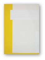 Trias dossiermap zonder elastiek, geel
