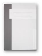 Trias dossiermap zonder elastiek, grijs