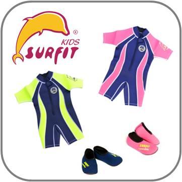 Surfit Kids UV zwemkleding voor kinderen - Wetsuits - Zwemschoenen