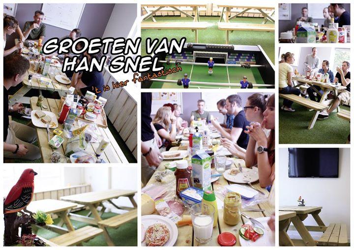 picknicktafels Han Snel