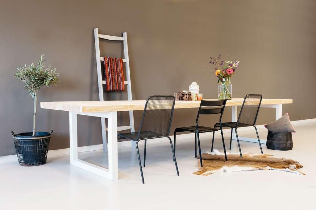 Specialist in houten tafels eettafels for Houten eettafel design