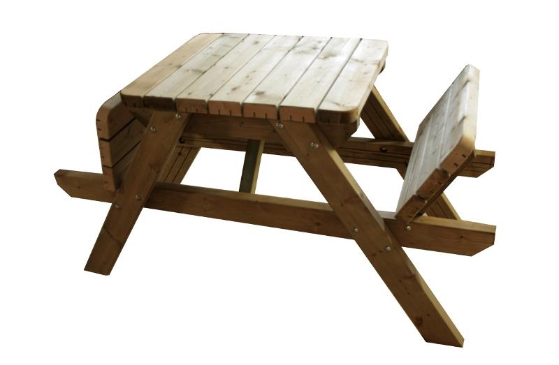 Wonderlijk Picknicktafel?? Niet zómaar een Picknicktafel maar een èchte Rockwood® CJ-58