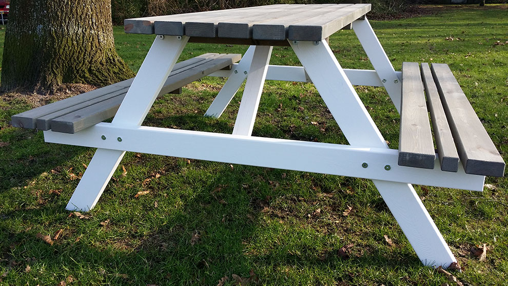 <BIG><B>PICKNICKTAFEL BI COLOR SIX STACK 1.80m/4cm dikte</p></B></BIG>