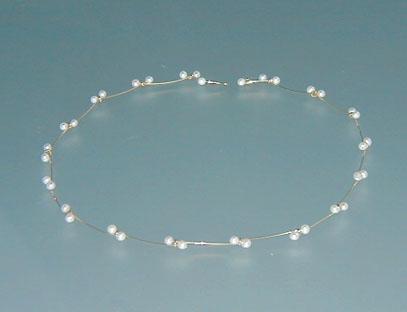 "Witte parels-collier ""Nina"""