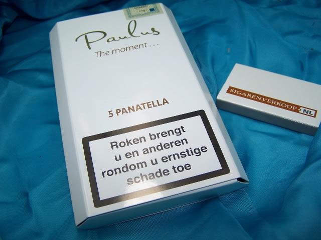 Paulus Panatella sigaren - Geproduceerd door Olifant, Kampen