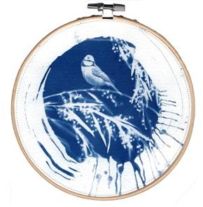 Blue bird L 4 Kunstwerkje