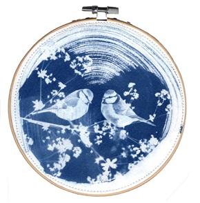 Blue bird M 2 Kunstwerkje