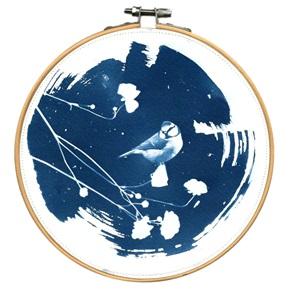 Blue bird L 5 Kunstwerkje