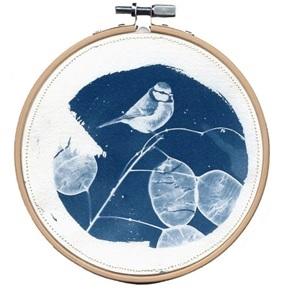 Blue bird M 4 Kunstwerkje