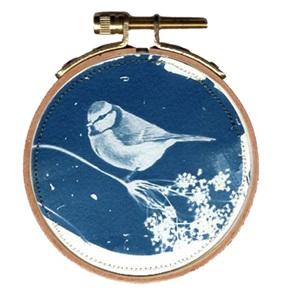 Blue bird S 2 Kunstwerkje
