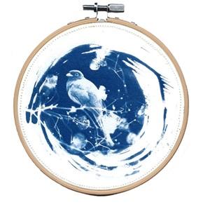 Blue bird M 5 Kunstwerkje