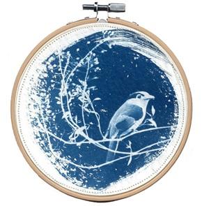 Blue bird M 6 Kunstwerkje