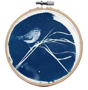 Blue bird M 7 Kunstwerkje
