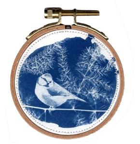 Blue bird S 4 Kunstwerkje