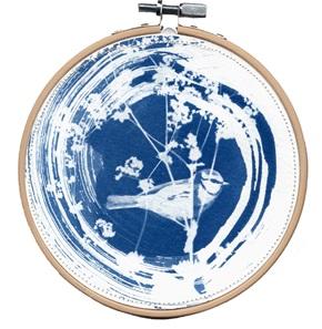 Blue bird M 9 Kunstwerkje