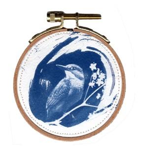 Blue bird S 5 Kunstwerkje