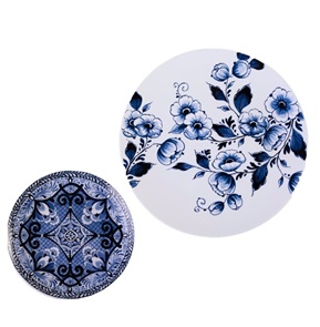 Plate Flower decor