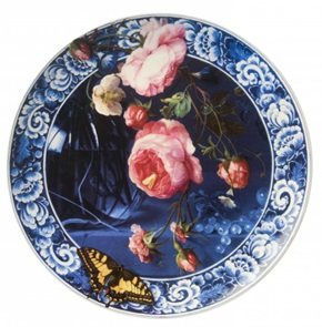 Plate Flowers of the Golden Age L