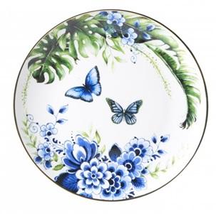 Plate Butterfly garde