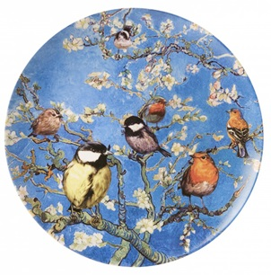 Plate birds from Van Gogh