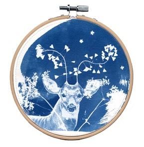 Blue deer L Kunstwerkje D