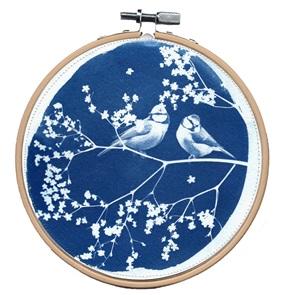 Blue bird L Kunstwerkje H